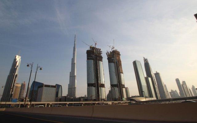 Отель Kennedy Towers - Index Tower Дубай вид на фасад