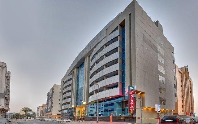 Отель Nihal Palace Дубай вид на фасад