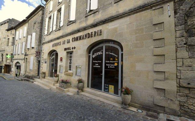 Отель Auberge de la Commanderie Франция, Сент-Эмильон - отзывы, цены и фото номеров - забронировать отель Auberge de la Commanderie онлайн вид на фасад
