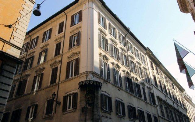 Отель Ottoboni Flats Италия, Рим - отзывы, цены и фото номеров - забронировать отель Ottoboni Flats онлайн вид на фасад