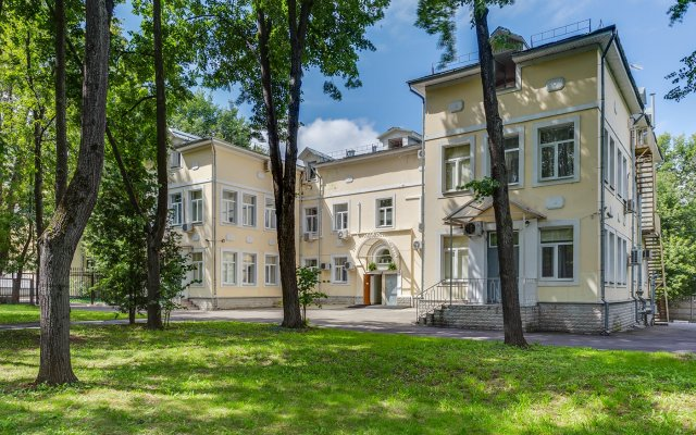 Гостиница Династия Лефортово вид на фасад