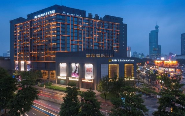 Отель Marco Polo Lingnan Tiandi Foshan вид на фасад