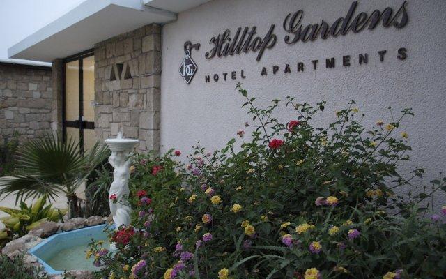 Отель Hilltop Gardens вид на фасад