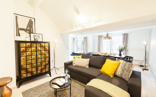 Отель Sweet Inn Apartments Louise Бельгия, Брюссель - отзывы, цены и фото номеров - забронировать отель Sweet Inn Apartments Louise онлайн комната для гостей