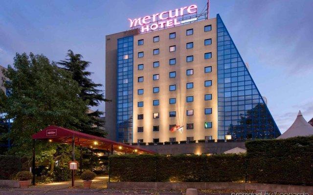 Отель Mercure Paris Porte de Pantin Франция, Пантин - отзывы, цены и фото номеров - забронировать отель Mercure Paris Porte de Pantin онлайн вид на фасад