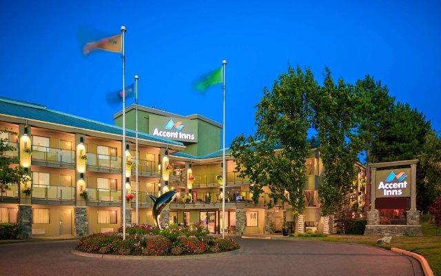 Отель Accent Inns Victoria Канада, Саанич - отзывы, цены и фото номеров - забронировать отель Accent Inns Victoria онлайн вид на фасад