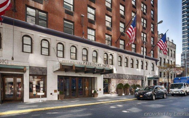 Отель The Gallivant Times Square США, Нью-Йорк - 1 отзыв об отеле, цены и фото номеров - забронировать отель The Gallivant Times Square онлайн вид на фасад