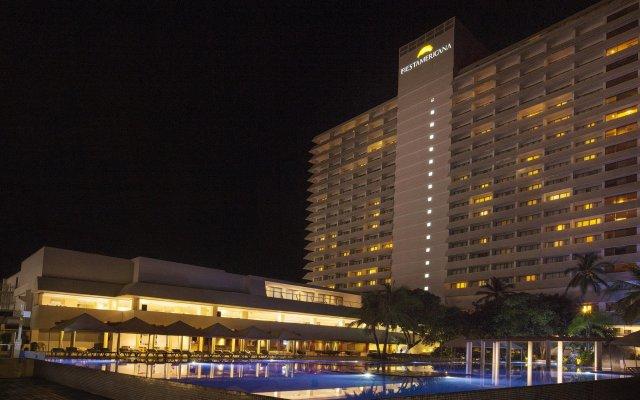 Отель Fiesta Americana Acapulco Villas вид на фасад