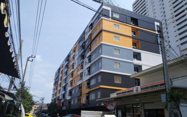 Отель Praso Ratchada Таиланд, Бангкок - отзывы, цены и фото номеров - забронировать отель Praso Ratchada онлайн вид на фасад