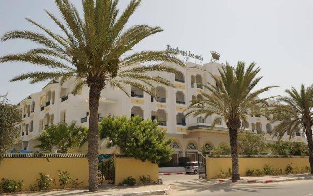 Hotel Topkapi Beach вид на фасад