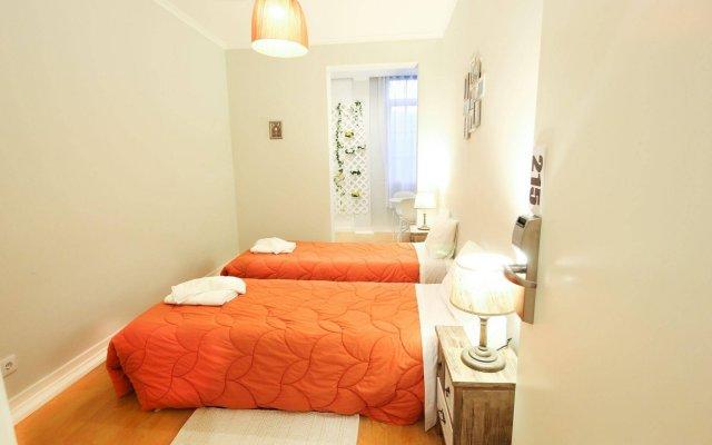 Lisboa Central Hostel комната для гостей