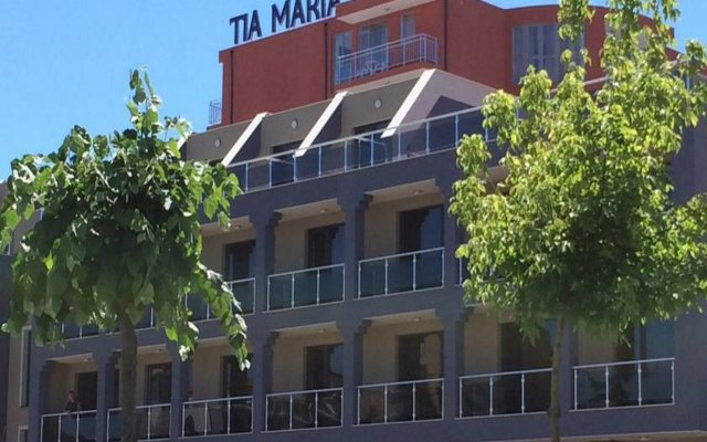 TM Deluxe Hotel Солнечный берег вид на фасад