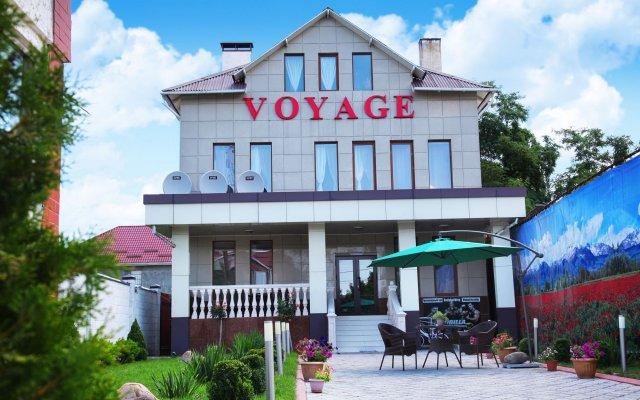 Отель Вояж Кыргызстан, Бишкек - 1 отзыв об отеле, цены и фото номеров - забронировать отель Вояж онлайн вид на фасад