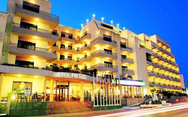 Hotel Santana Malta Каура вид на фасад