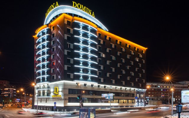Гостиница Domina (Новосибирск) в Новосибирске 13 отзывов об отеле, цены и фото номеров - забронировать гостиницу Domina (Новосибирск) онлайн вид на фасад