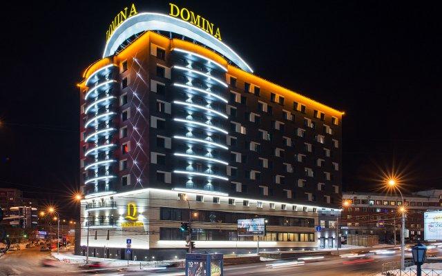 Домина Отель Новосибирск вид на фасад