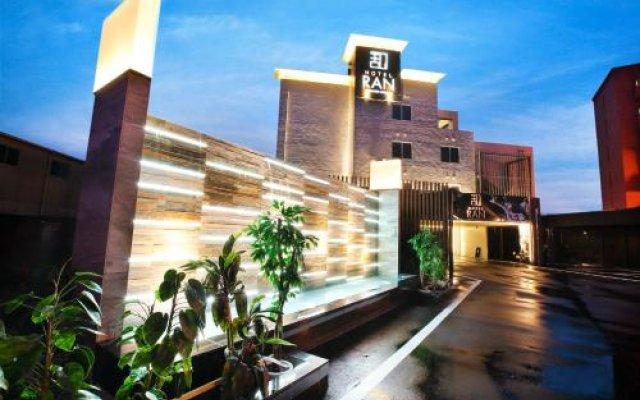 Hotel Ran Фукуока вид на фасад