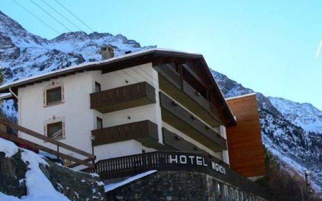 Hotel Mignon Стельвио вид на фасад