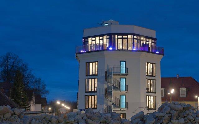 Отель Im Bunker Мюнхен вид на фасад