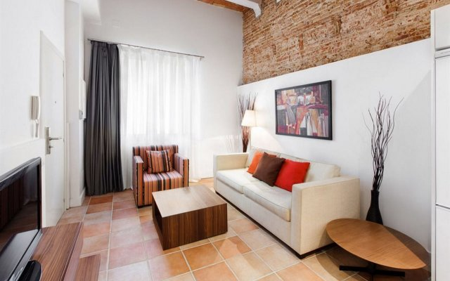 Отель Dailyflats Gracia Барселона комната для гостей