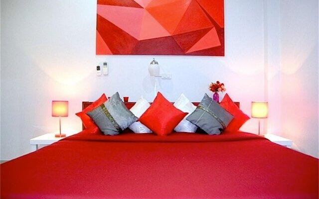 Отель Green Leaf 3 Nai Harn 2 bedrooms Villa комната для гостей