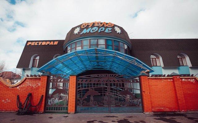 Гостиница Море в Тюмени 1 отзыв об отеле, цены и фото номеров - забронировать гостиницу Море онлайн Тюмень вид на фасад