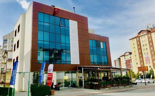 Zirve Deluxe Rezidans Турция, Кайсери - отзывы, цены и фото номеров - забронировать отель Zirve Deluxe Rezidans онлайн вид на фасад