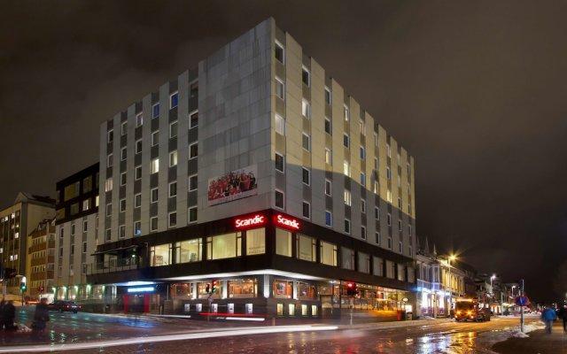 Отель Scandic Grand Tromsø вид на фасад