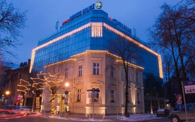 Бутик Отель Кристал Палас София вид на фасад