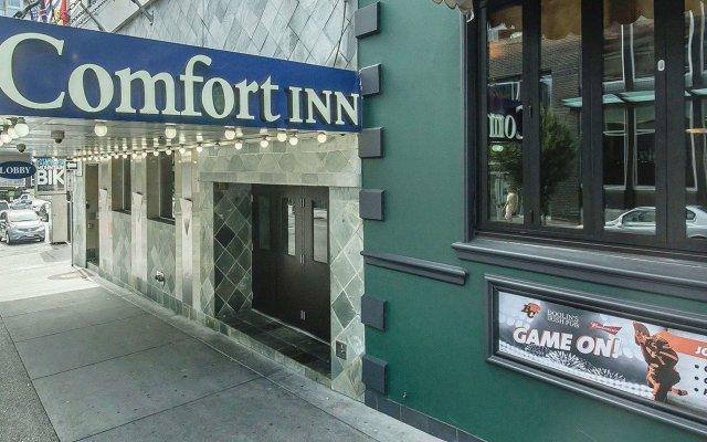 Отель Comfort Inn Downtown Vancouver Канада, Ванкувер - отзывы, цены и фото номеров - забронировать отель Comfort Inn Downtown Vancouver онлайн вид на фасад