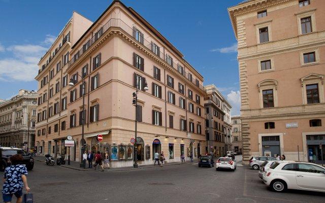 Отель Oriana Suites Rome вид на фасад