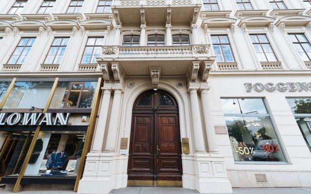 Апартаменты Duschel Apartments City Center Вена вид на фасад