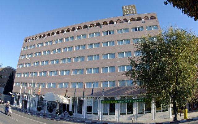 Отель Granada Center Hotel Испания, Гранада - 1 отзыв об отеле, цены и фото номеров - забронировать отель Granada Center Hotel онлайн вид на фасад