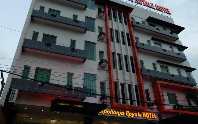 Отель Apollonia Royale Hotel Филиппины, Пампанга - отзывы, цены и фото номеров - забронировать отель Apollonia Royale Hotel онлайн вид на фасад