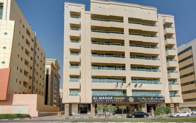 Al Manar Grand Hotel Apartment вид на фасад