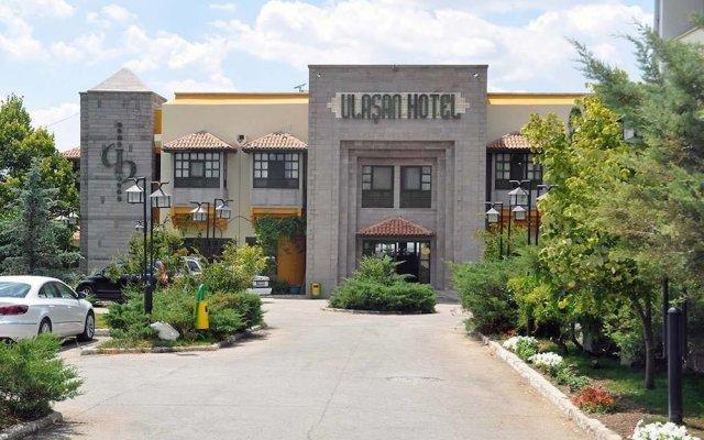 Ulasan Hotel вид на фасад