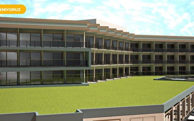 Maritim Hotel Saray Regency вид на фасад