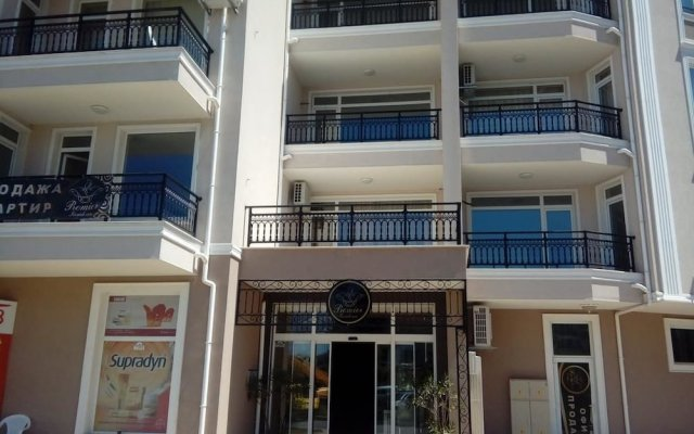 Отель Deluxe Premier Residence Солнечный берег вид на фасад
