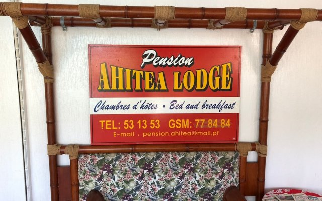 Отель Ahitea Lodge вид на фасад