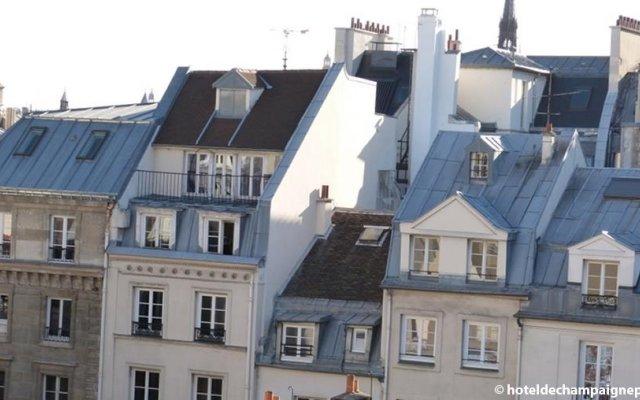 Grand Hotel Dechampaigne вид на фасад