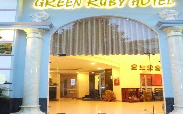 Green Ruby Hotel вид на фасад