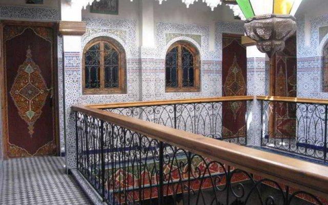 Отель Riad Mahjouba Марракеш вид на фасад