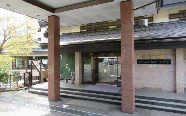 Hotel Manyoutei Никко вид на фасад