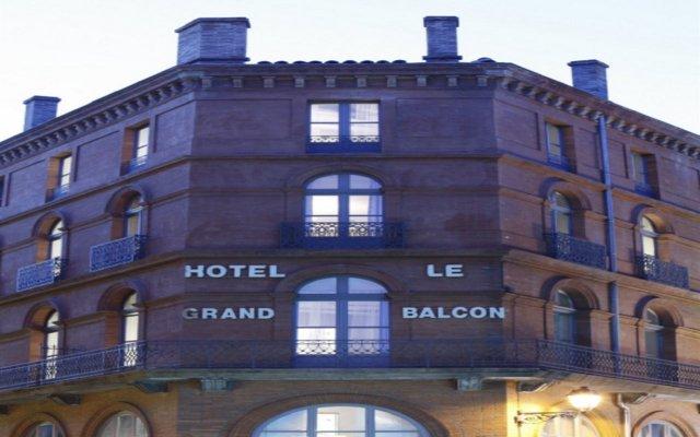 Отель Le Grand Balcon Hotel Франция, Тулуза - отзывы, цены и фото номеров - забронировать отель Le Grand Balcon Hotel онлайн вид на фасад
