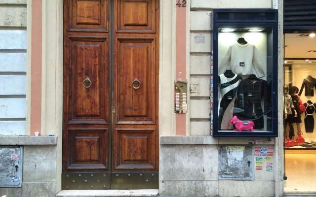 Отель I Prati di Roma Suites вид на фасад