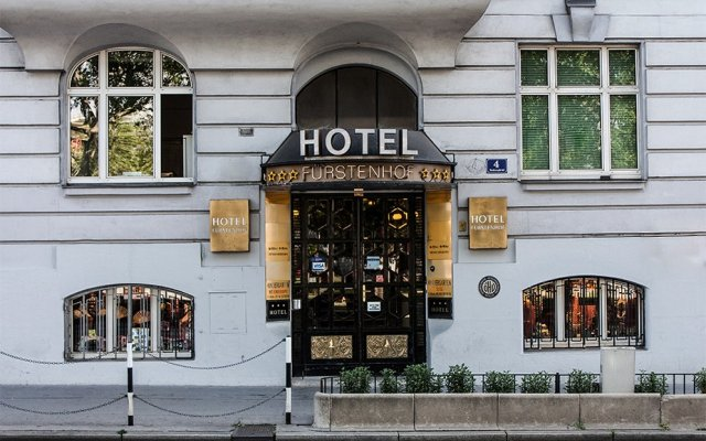 SHS Hotel Fürstenhof вид на фасад