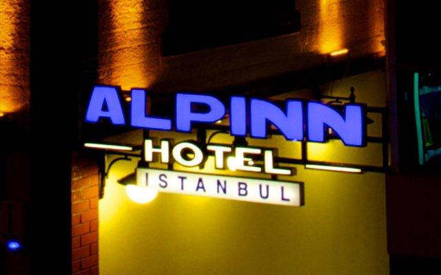 Alpinn Hotel Турция, Стамбул - отзывы, цены и фото номеров - забронировать отель Alpinn Hotel онлайн вид на фасад