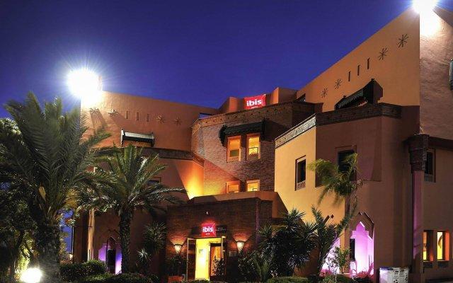 ibis Marrakech Palmeraie Hotel вид на фасад