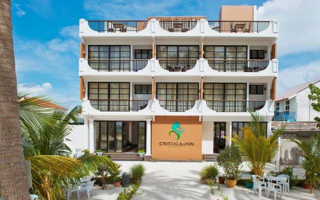 Отель Crystal Sands Beach Hotel Мальдивы, Маафуши - отзывы, цены и фото номеров - забронировать отель Crystal Sands Beach Hotel онлайн вид на фасад