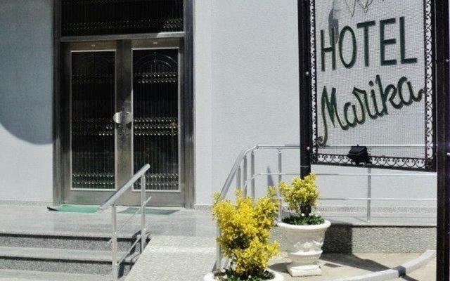 Hotel Marika вид на фасад